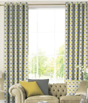BROCADE Flaxen Curtain