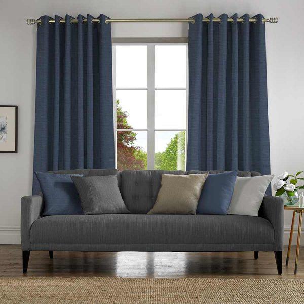 Plains Denim Curtain
