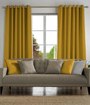 Plains Mustard Curtain