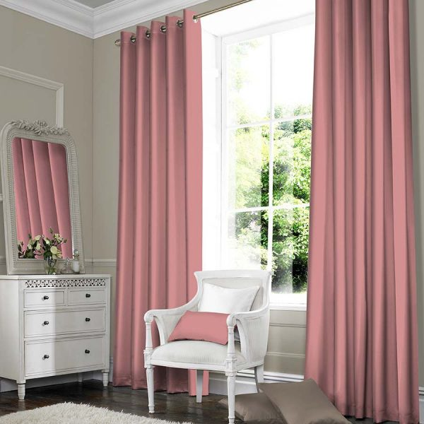 SILKY PINK curtain
