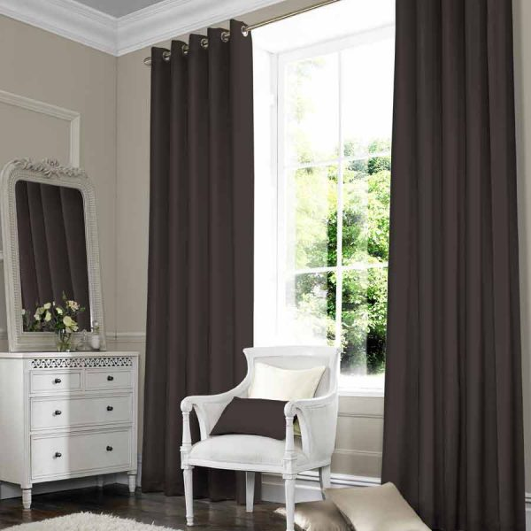 SILKY Walnut Curtain