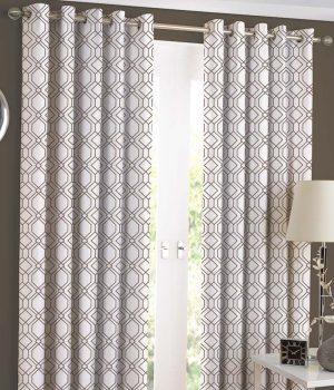 SOLITAIRE Tan Curtain