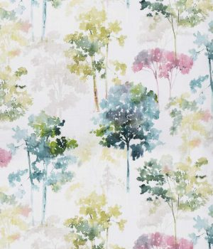 Watercolour Forest Curtain