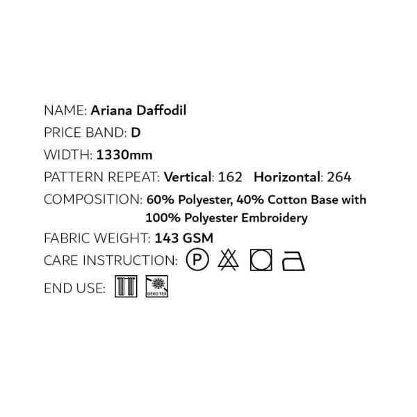 Ariana Daffodil