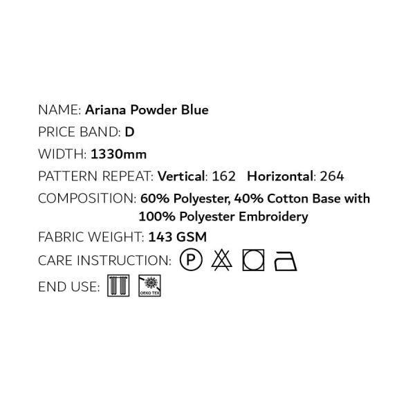 Ariana Powder Blue
