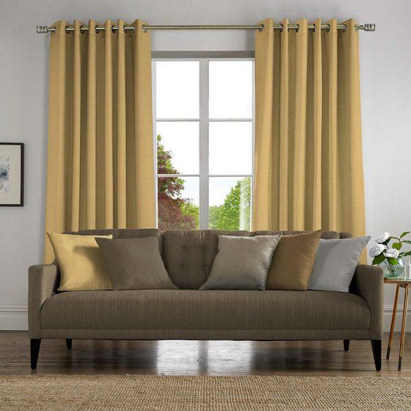 Banbury Yellow Curtains