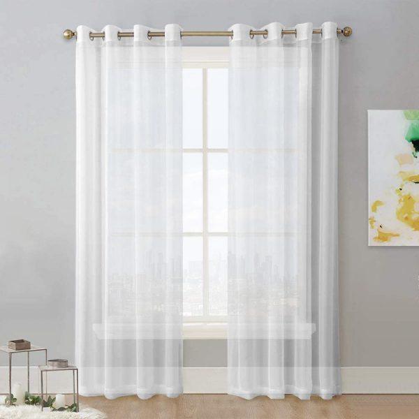 Chiffon-Cream-Curtain