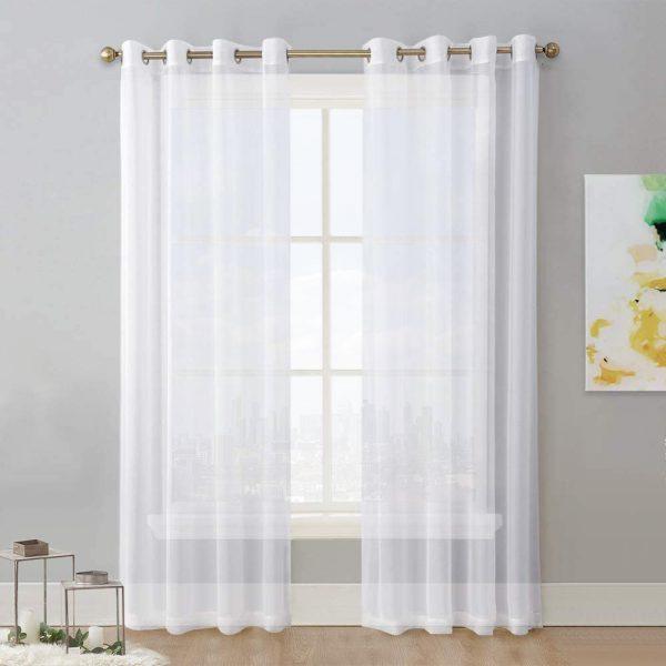 Chiffon-White-Curtain