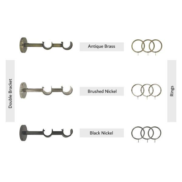 Double-Bracket-&-Rings