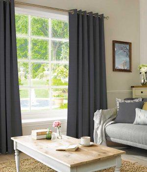 Plains Ebony Curtain