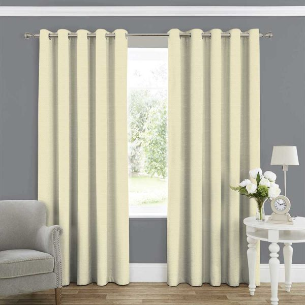 Plains Eggshell Curtain