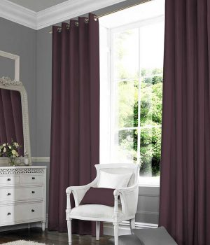 Plains Plum Curtain