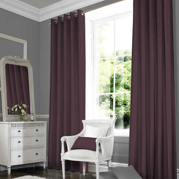 Plains Plum Curtain