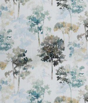 Watercolour Mist Curtain