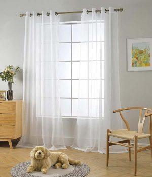 Cirus Cream Sheer Curtains