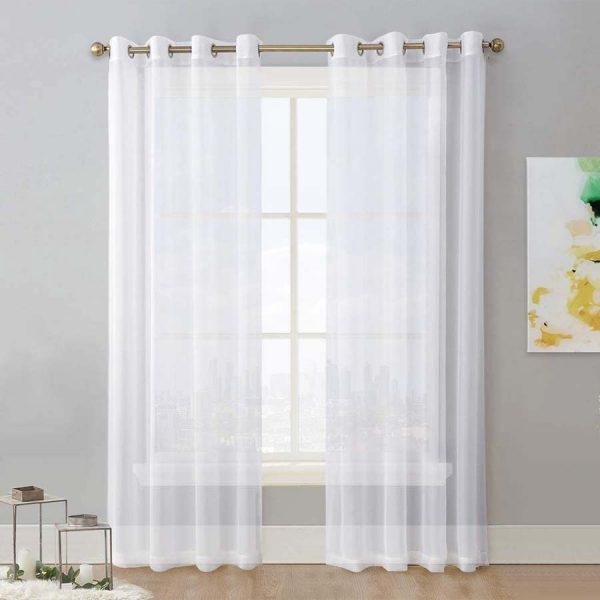Cirus White Curtain