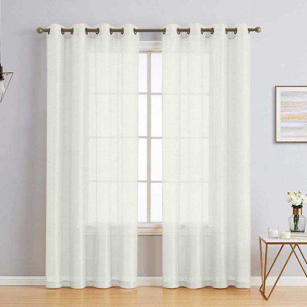 Matrix-Yellow-Sheer-Curtains